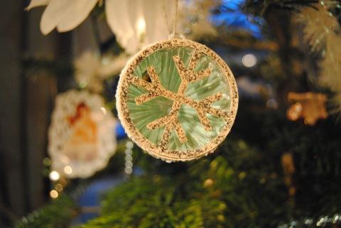 Vintage julekule rosaroseblogg