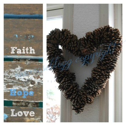 faith hope love card vannmerke