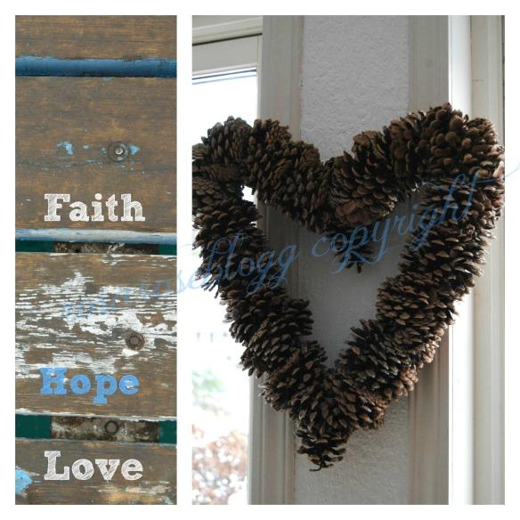 faith hope love card vannmerke